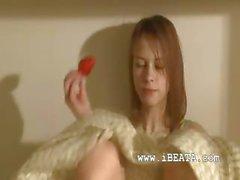 Rus beata vajina geniş açın