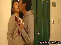 Ayane Asakura volwassen Aziatische model heeft seks part5