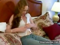Cute Shemale POV Experience