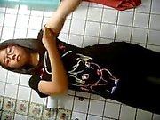 Asiatiska teen strippning