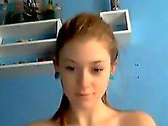 Ziemlich frechen Webcam Mädchen