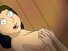 hentai 3d fam guy lesbisk av sex med Bonnie och Lois