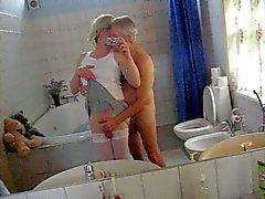 Jeannet ve banyo eğlenceli Baş kahya