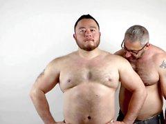 två muskel män