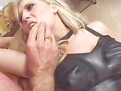 Michelle Barrett Takes On A Big Dick