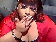 BBW Sissy Diane Smoke For Master