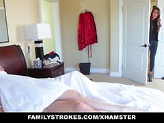 FamilyStrokes Hot-Tochter erpresst Creepy Step-Dad