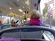 Real Pública Bus Masturbación Lena Loch