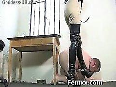 Extremo servidumbre Mujeres Dominantes En Caliente perra de