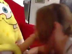 SpongeBob Gets A Blowjob
