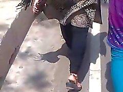 Collegemate passeggiata Reshma ass ( 2ª Video dei Reshma )