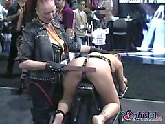 Handjob & interracial sex in doggy style