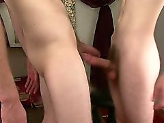 My HUNG cameraman Brent has sex with str8 guy and then jacks his HUGE cock with the dude's cum lube.