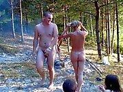 Glad ryska nudister