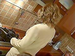 After in der Küche und