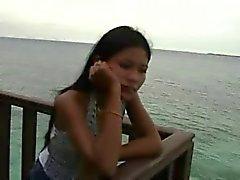 chica de Tailandia