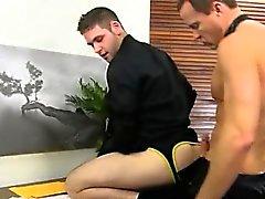 Nackt Homosexuell Porn in 3gp Während alle anderen ist zum Mittagessen, D