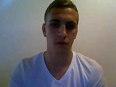 Немецкий мальчик Selfsuck чудовище петух, дрочит большой жопа на вебкамеру