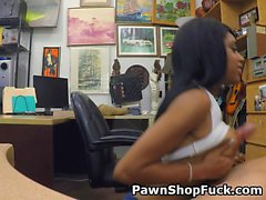 Black Beauty Brittney White Tit Fuck And Blowjob In Office