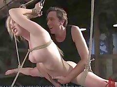 Tiros compilação de duro e pesado bondage BDSM e ação tortura