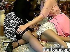 Seductive Horny Chick Fucked Wild In Spicy Pantyhose