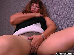 There is something about grandma and her nylons