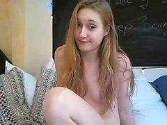 Oberoende amatör tonåring blonda toying fitta