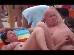 Nude Beach - Lewd Çiftler Kamu Exhiibitions - p1trick