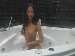 MiaMaxx Bubblebath Rasieren, Masturbation, Dildoing