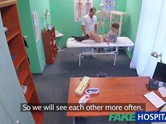 FakeHospital Kısa saçlı hottie doktorunuz baştan çıkarır