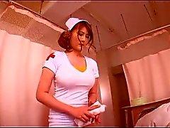 Leashed Große Brüste japanische Krankenschwester
