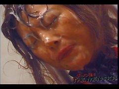 Tvingad bukkake milky är 16 4/4 japanska ocensurerad Bukkake
