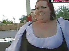 Vay Giant Ass Bbw Kızıl Kaçanı Siken Onun Pussy Chubby Tits Bölüm 1