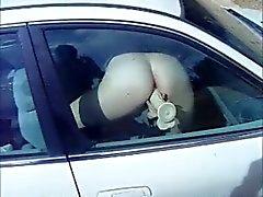 Janela do carro vibrador