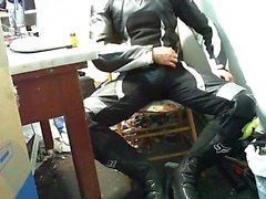 Mx cuero de paja y zapatos de partido y en el interior
