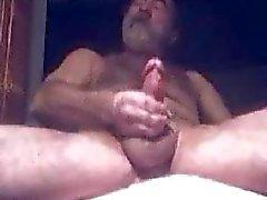 Oude man en zijn jizz