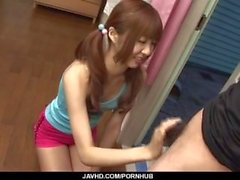 Kotone Aisaki, Amateur-Mädchen, Schläge und fickt hart
