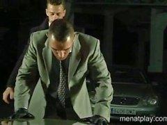 Мужчины время игр Стоянка
