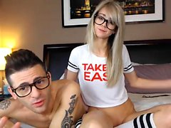 ShesNew Amateur blonde teen Chloe Brooke shaved pu