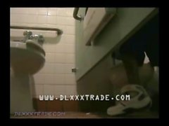 Suckin a big Dick in a Public Toilet Urinal