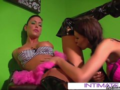 Intimate Lesbians - Jessica Jaymes and Sea J Raw anal toys