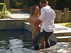 PORNFIDELITY - Lyra Louvel Massaged dur et Creampied