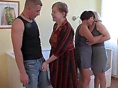 3 grannies genç bir horoz ve Diğer Her Suck ve cehenneme