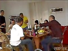 Zafira Gangbang Party