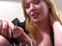 Femdom Cuckold Chastity Tease and Denial