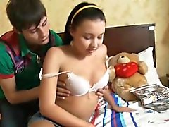 Mamada adolescente ruso