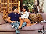Smoking hot Latina has her pussy drilled