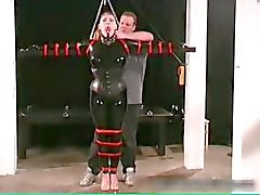 Kinky MILF gets tied and cunt inspected part3