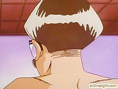 Bigboobs de Hentai coge doggystyle follan oscilación bigcock