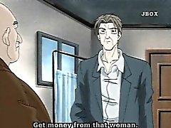 Bigboobs Hentai äiti kuumia Fucked hänelle boss